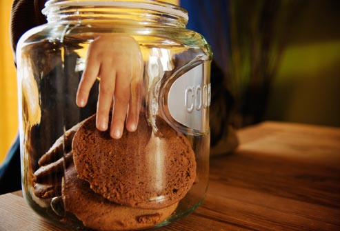 Image result for hand in cookie jar